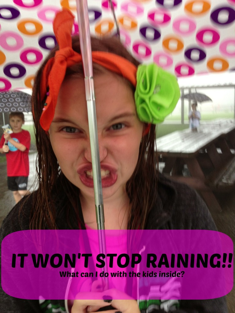 It Won't Stop Raining! What Can I Do With the Kids Inside from HouseofHills.org