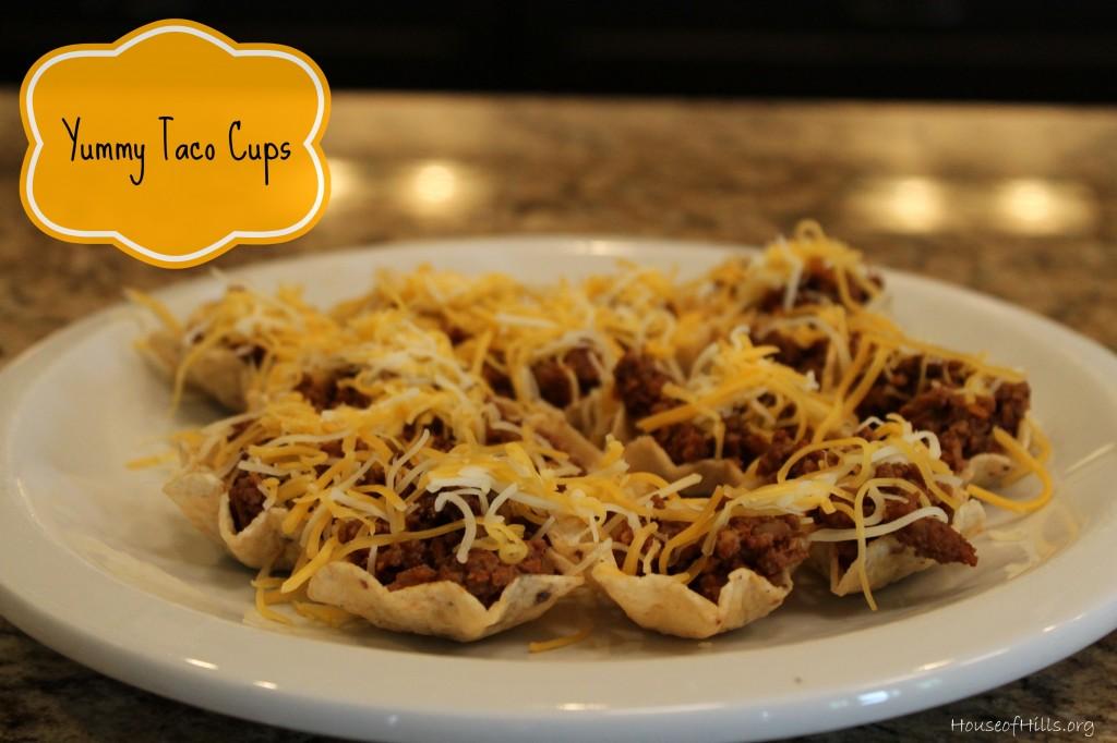 Yummy Taco Cups