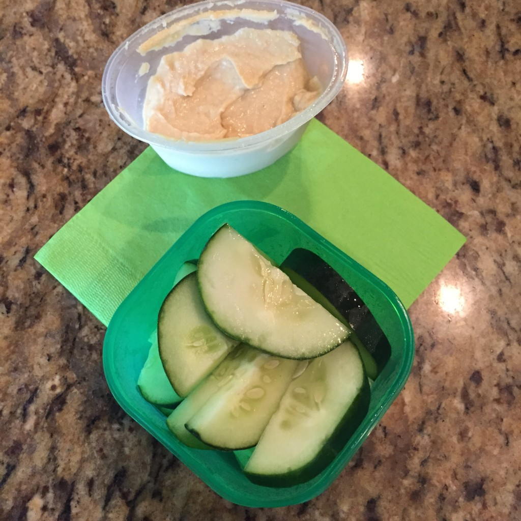21 Day Fix Veggies and Hummus
