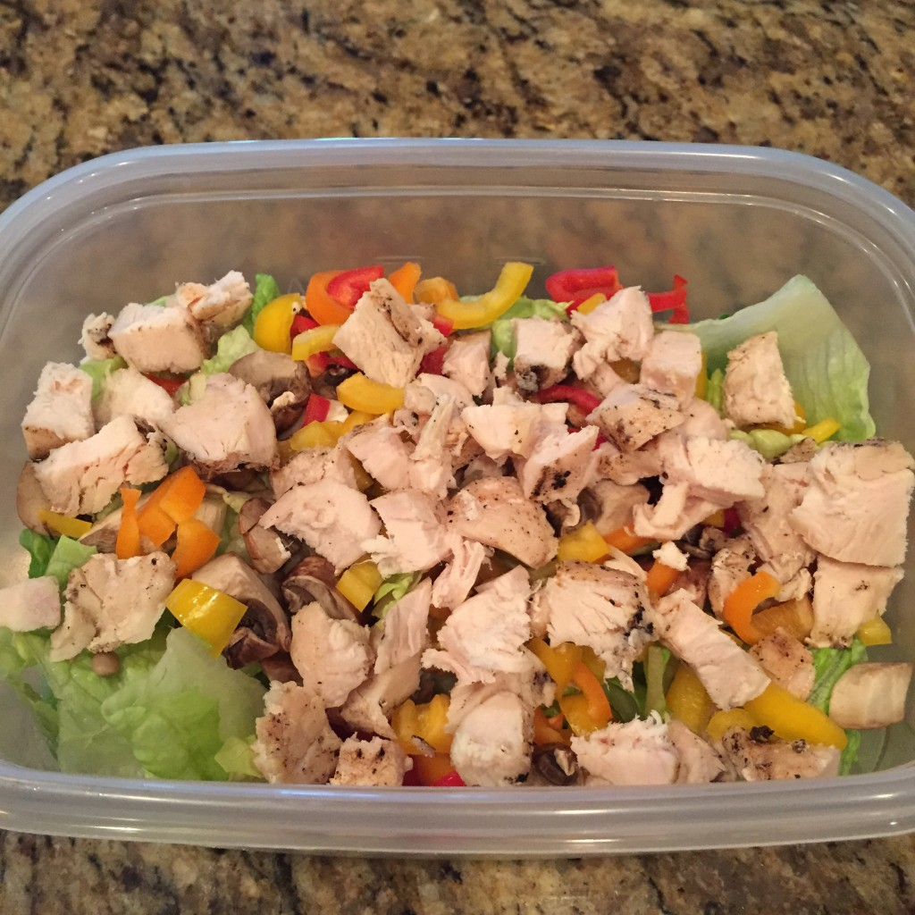 21 Day Fix Day 9 Meal 6